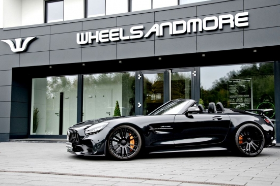 Превью Mercedes-AMG GT R modified Roadster Wheelsandmore