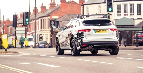 Jaguar Land Rover is equipped with new technology