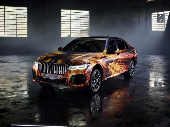 BMW 7 series hybrid plug - in: a radical change in appearance