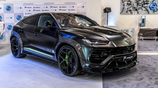 Превью What the most powerful Lamborghini Urus looks like